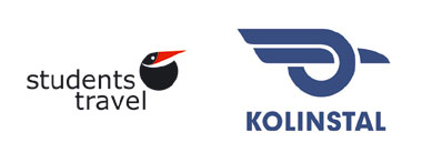Logo Students Travel i Kolinstal
